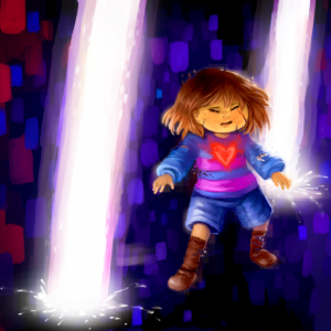 Fan-art piece for the game Undertale
