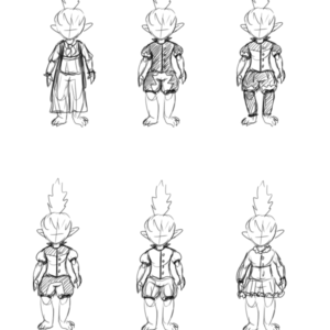 Outfit concepts for the elf girl