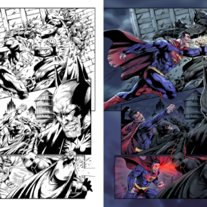 Colors by me, Inks by Opik Roy