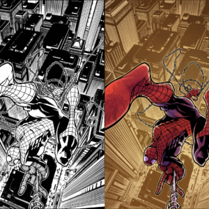 Colors by me, Pencils and Inks by Zach Howard