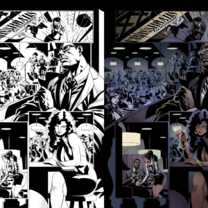 Last Days of Kevin, colors by me, inks by Gian Carlo Bernal